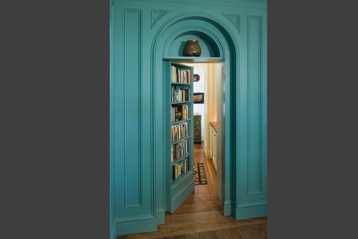 custom home secret room
