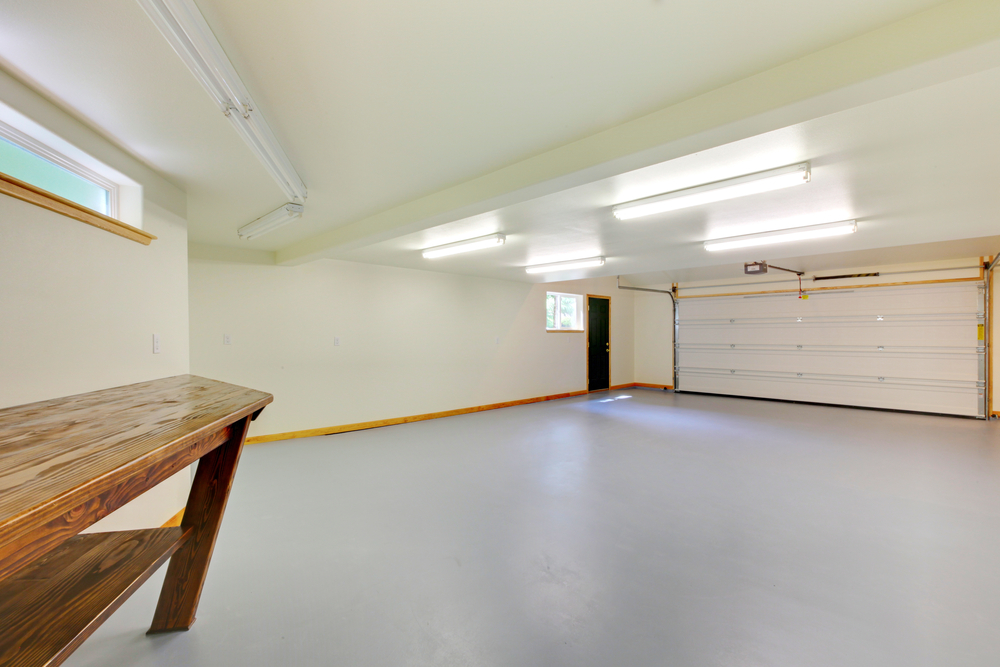 garage conversion lofting lighting