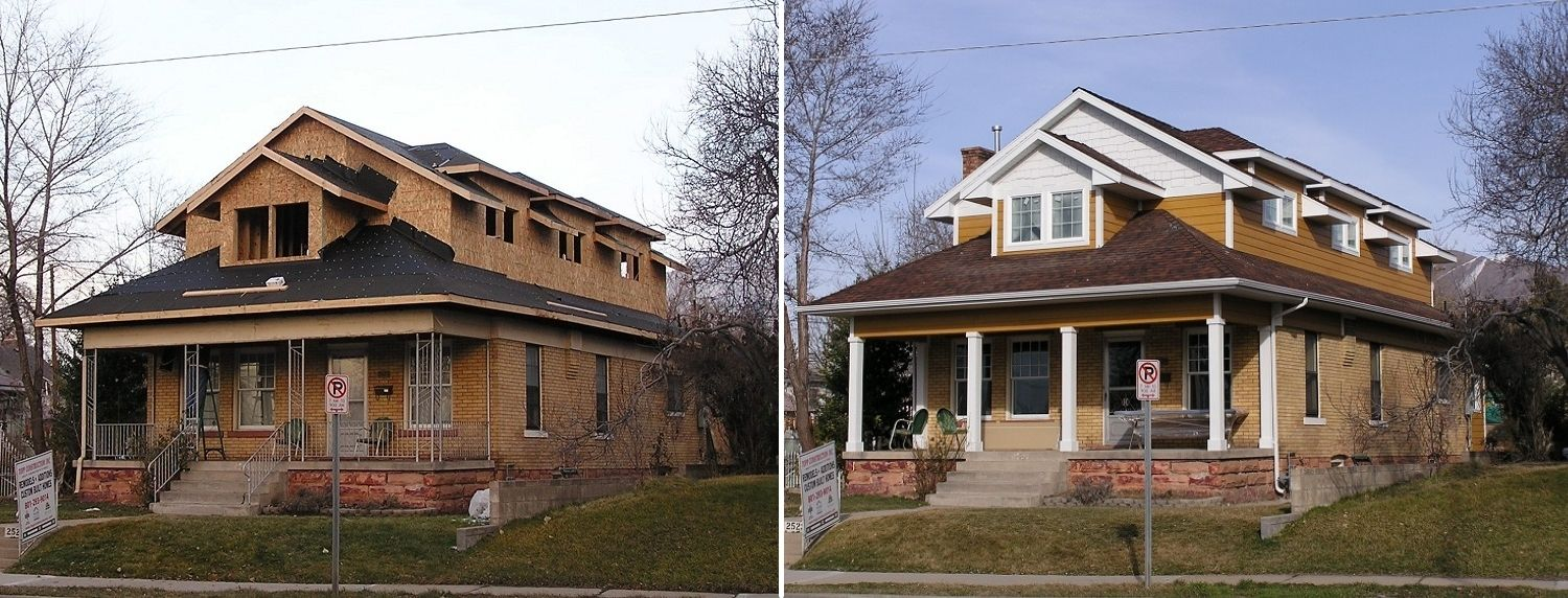 Residential Home Remodeling in South Salt Lake by Topp Remodeling & Construction Before and After
